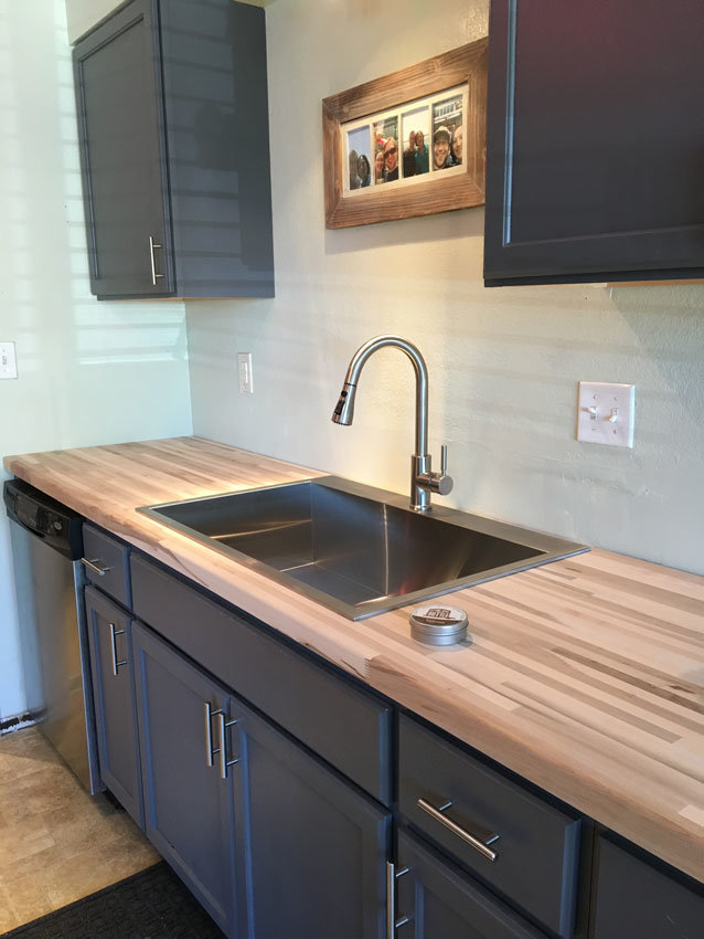 boise custom wood countertops