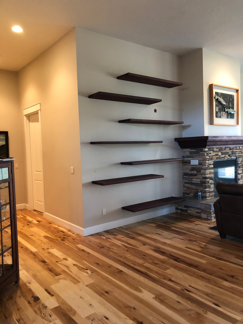 floating shelves boise